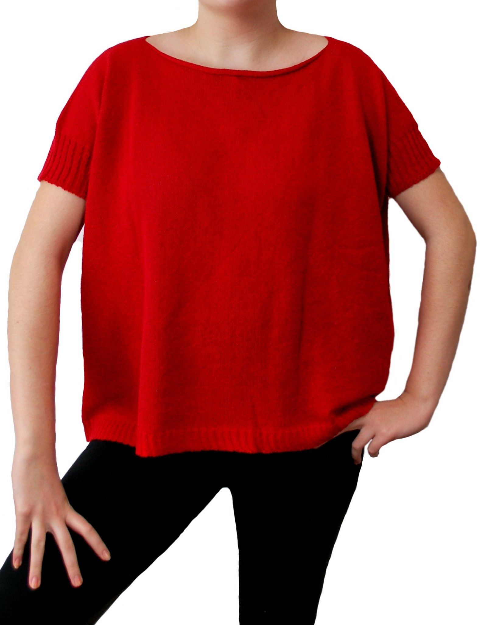 Holes Top Red